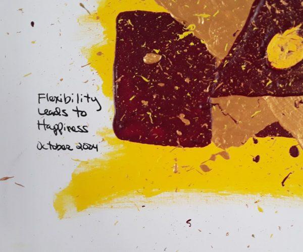 Original Poetry Painting Flexibility Poem