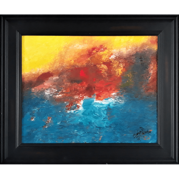 Original Oil Painting Abstract 14