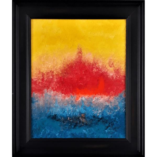 Original Oil Painting Abstract 15