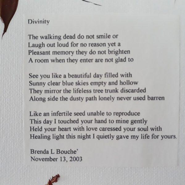 Original Poetry Painting Divinity Poem