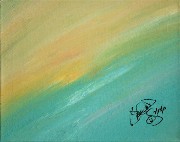 Abstract Acrylic Art Gonnus Mons