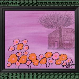 Original Orange Flower Tree House