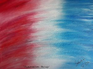 Abstract Acrylic Art Harmonious Beliefs