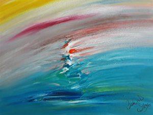 Abstract Acrylic Art Olympus Mons